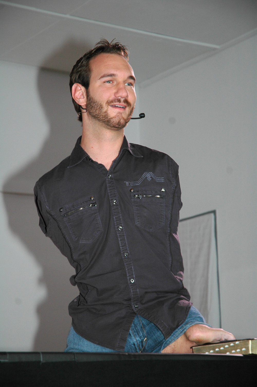 Superar las adversidades, Nick Vujicic